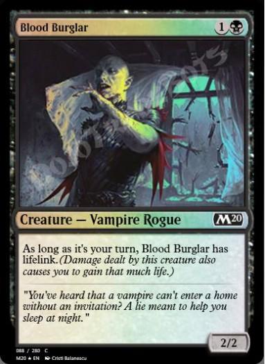Blood Burglar FOIL
