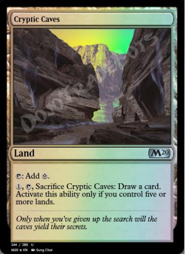 Cryptic Caves FOIL