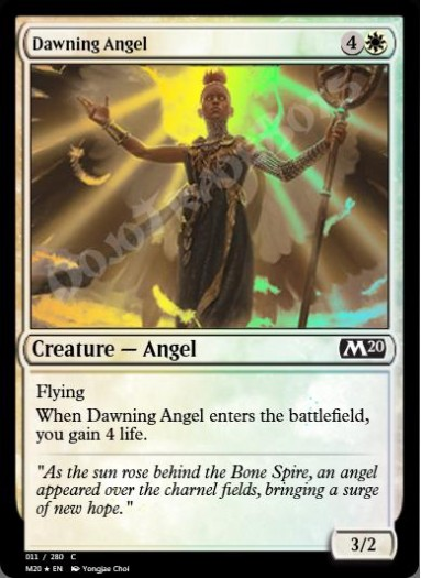 Dawning Angel FOIL