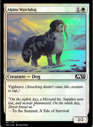 Alpine Watchdog FOIL