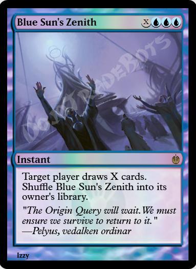 Blue Sun's Zenith FOIL