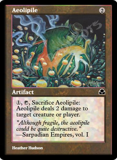 Aeolipile FOIL