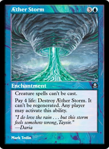 Aether Storm FOIL