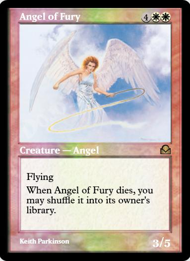 Angel of Fury FOIL