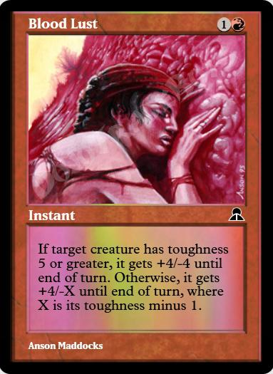 Blood Lust FOIL
