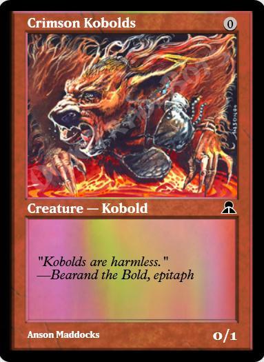 Crimson Kobolds FOIL