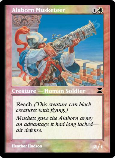 Alaborn Musketeer FOIL