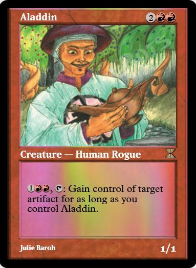 Aladdin FOIL