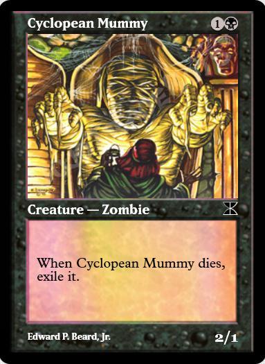 Cyclopean Mummy FOIL