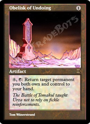 Obelisk of Undoing FOIL
