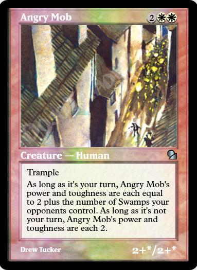 Angry Mob FOIL