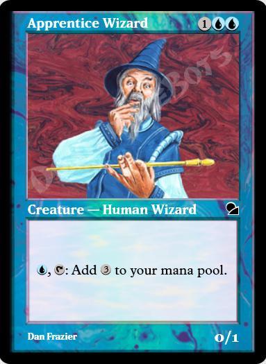 Apprentice Wizard FOIL