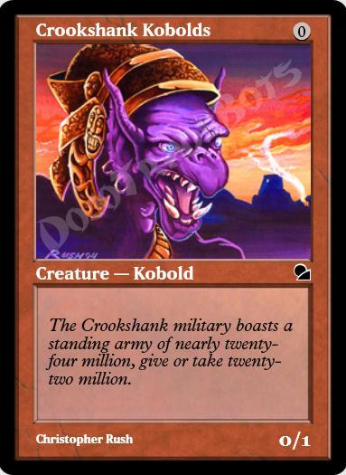 Crookshank Kobolds