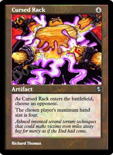 Cursed Rack FOIL