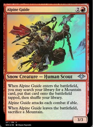 Alpine Guide FOIL