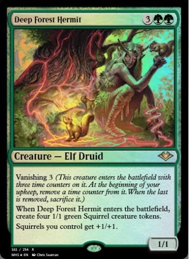 Deep Forest Hermit FOIL