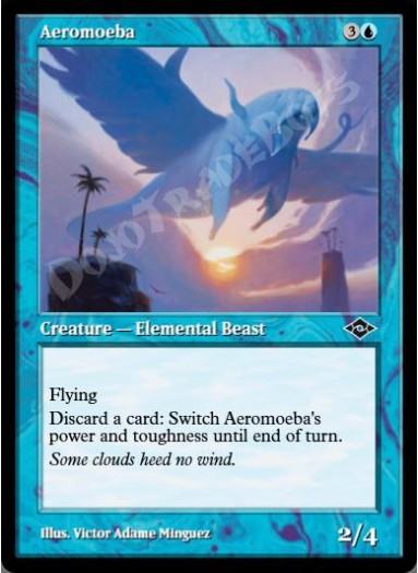 Aeromoeba (Retro Frame)