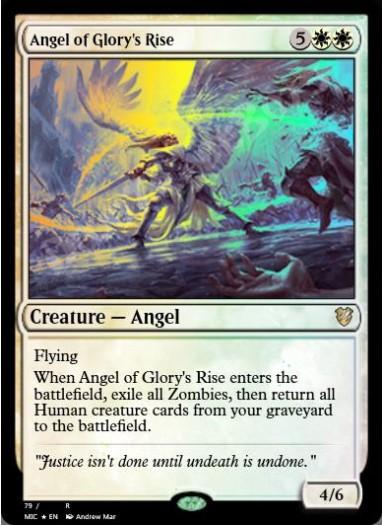 Angel of Glory's Rise FOIL