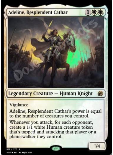 Adeline, Resplendent Cathar (#1) FOIL
