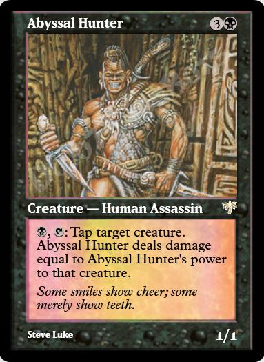 Abyssal Hunter FOIL