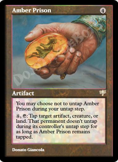 Amber Prison FOIL