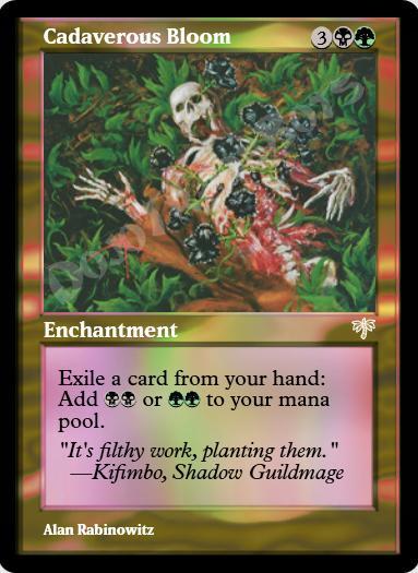Cadaverous Bloom FOIL