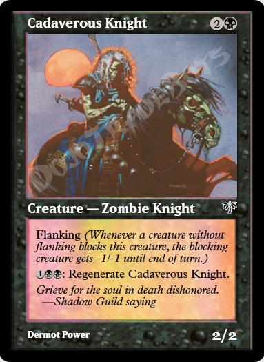 Cadaverous Knight FOIL