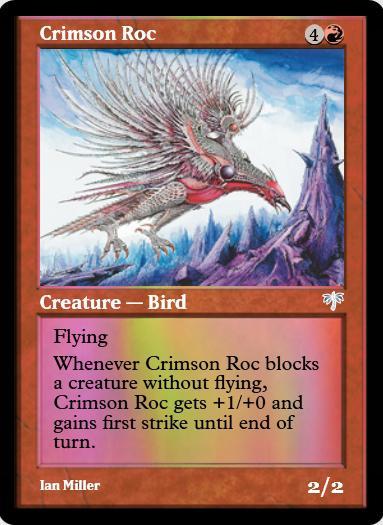 Crimson Roc FOIL