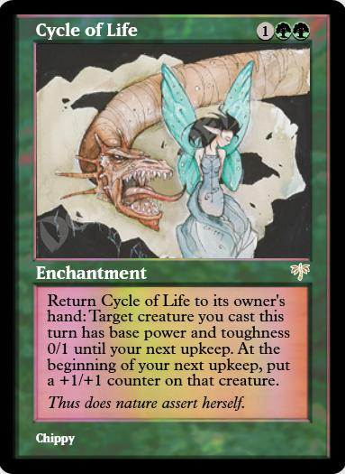 Cycle of Life FOIL
