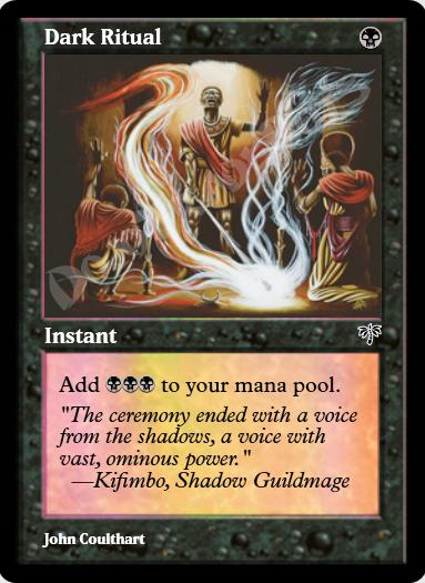 Dark Ritual FOIL
