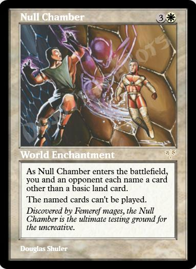 Null Chamber