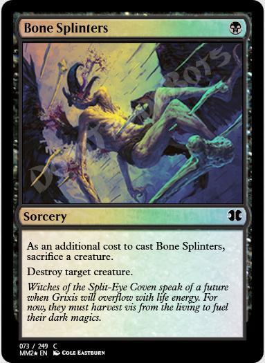 Bone Splinters FOIL