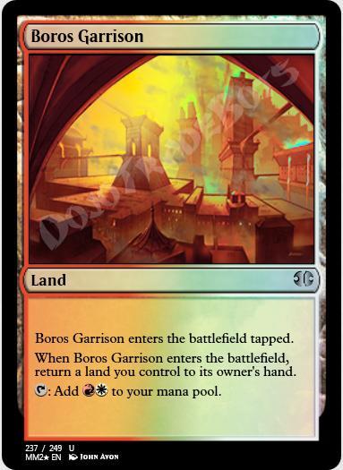 Boros Garrison FOIL