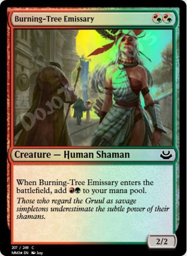 Burning-Tree Emissary FOIL