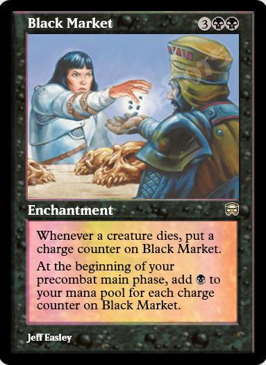 Black Market FOIL