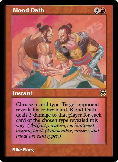 Blood Oath FOIL