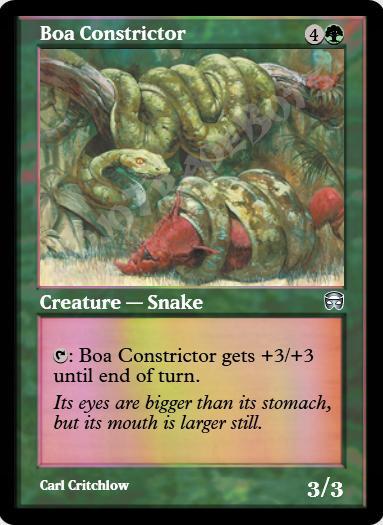 Boa Constrictor FOIL