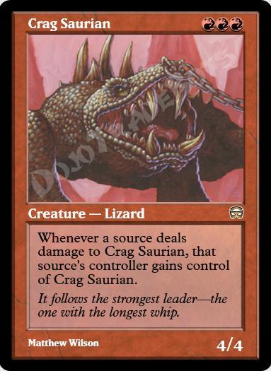 Crag Saurian