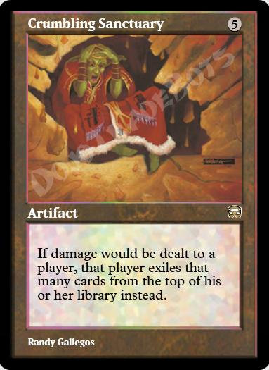 Crumbling Sanctuary FOIL