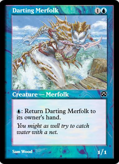 Darting Merfolk FOIL