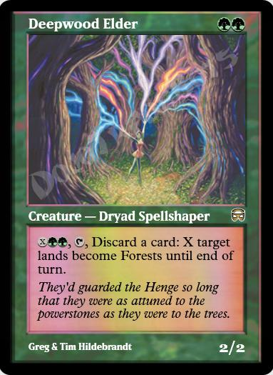 Deepwood Elder FOIL