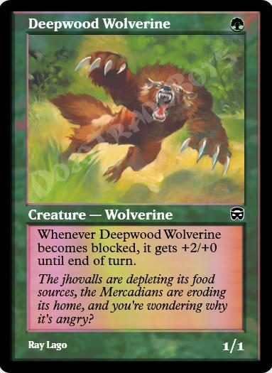 Deepwood Wolverine FOIL
