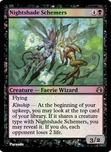 Nightshade Schemers FOIL