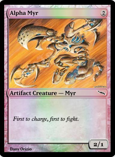 Alpha Myr FOIL
