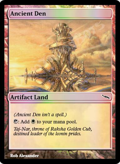 Ancient Den FOIL