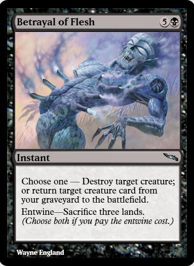 Betrayal of Flesh