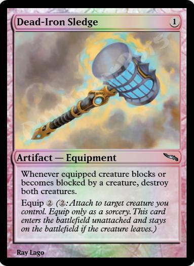 Dead-Iron Sledge FOIL