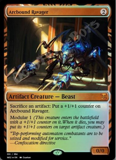 Arcbound Ravager FOIL