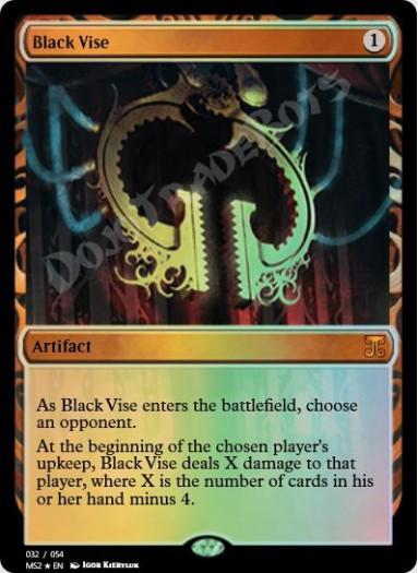 Black Vise FOIL