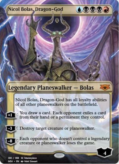 Nicol Bolas, Dragon-God